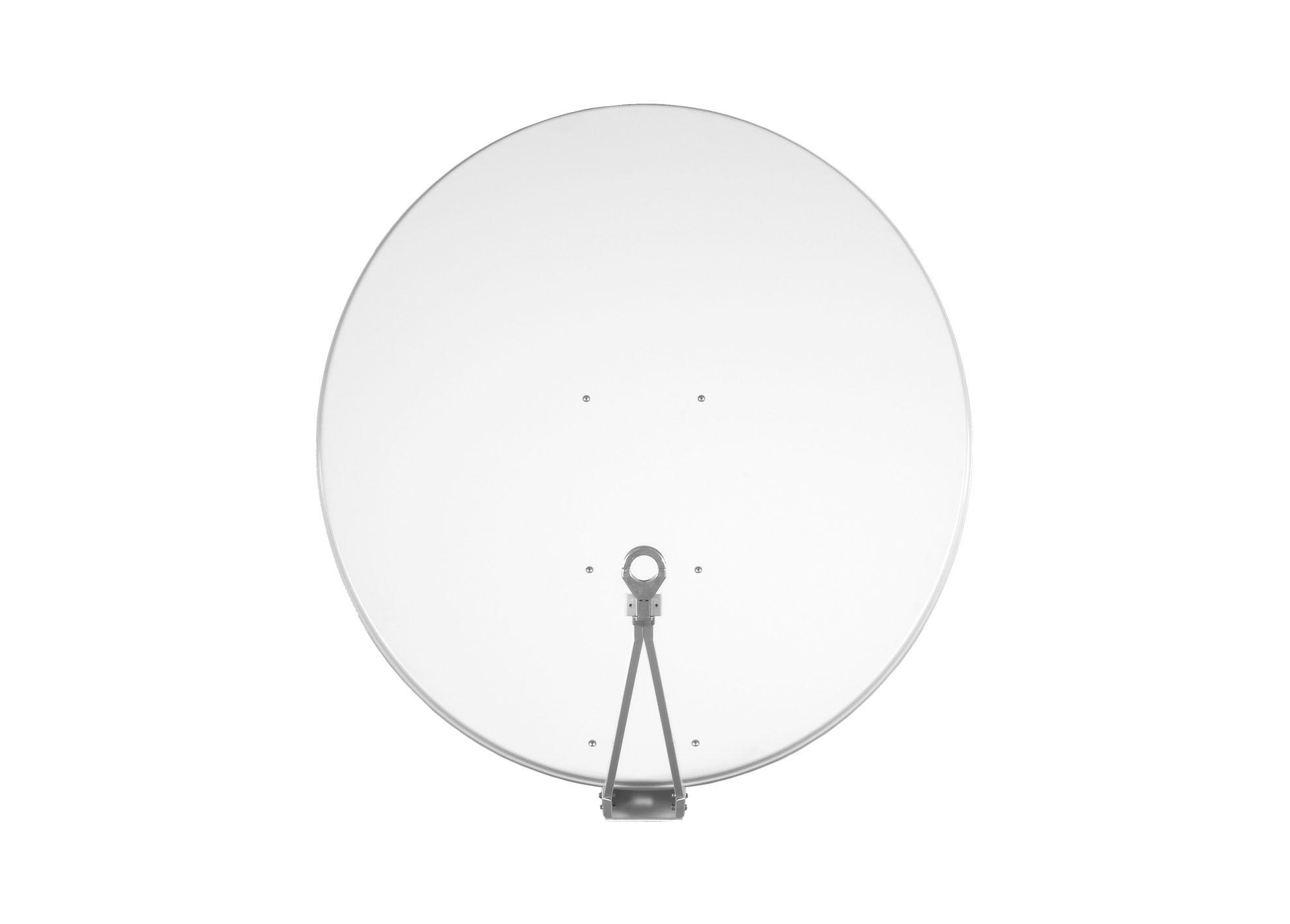 Satelitná parabola Gibertini 125 Al biela