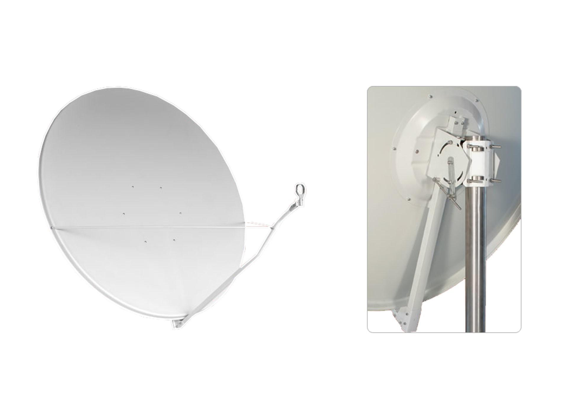Satelitná parabola Gibertini 150 Al biela
