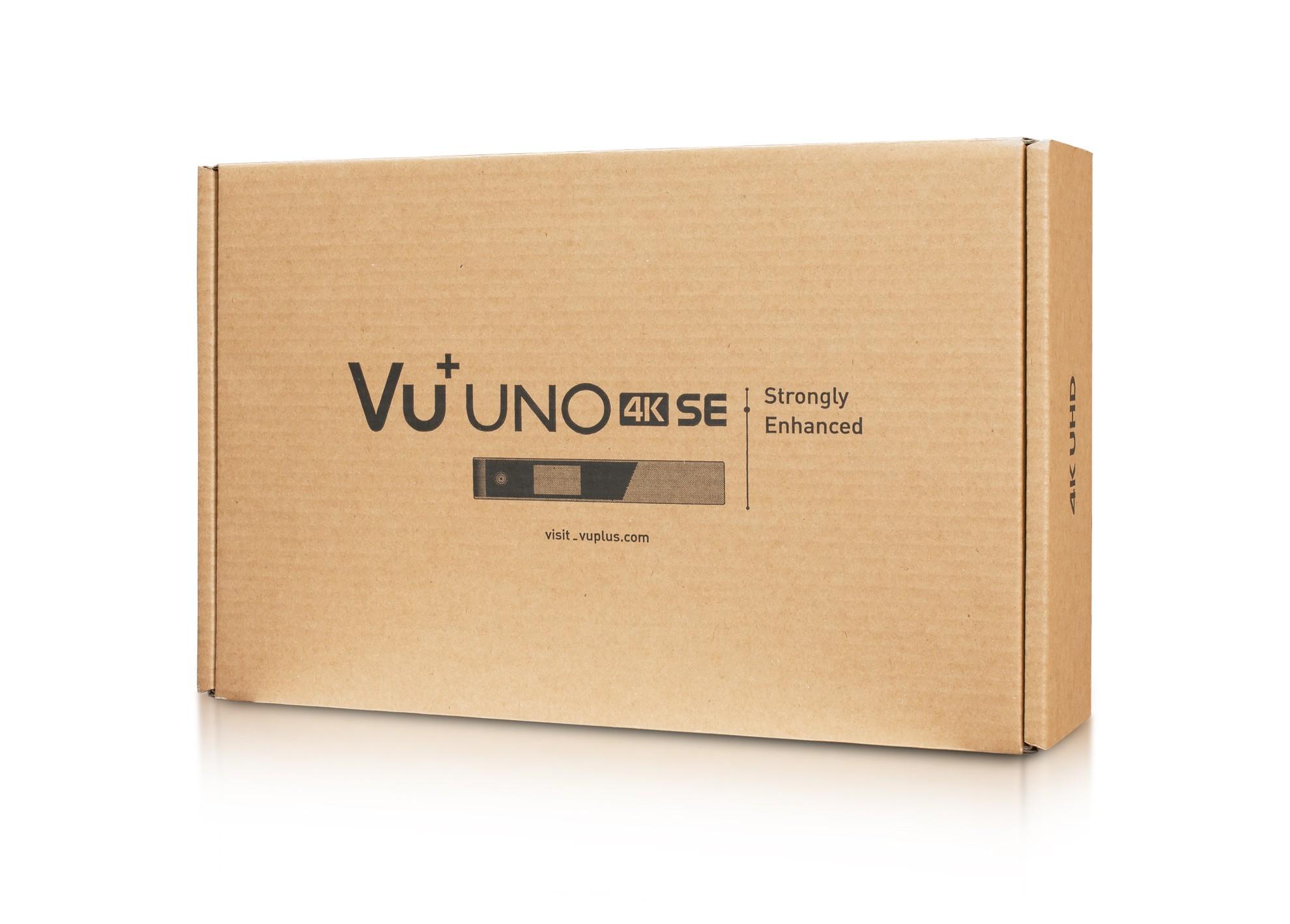 VU+ UNO 4K SE (Dual FBC-C tuner)