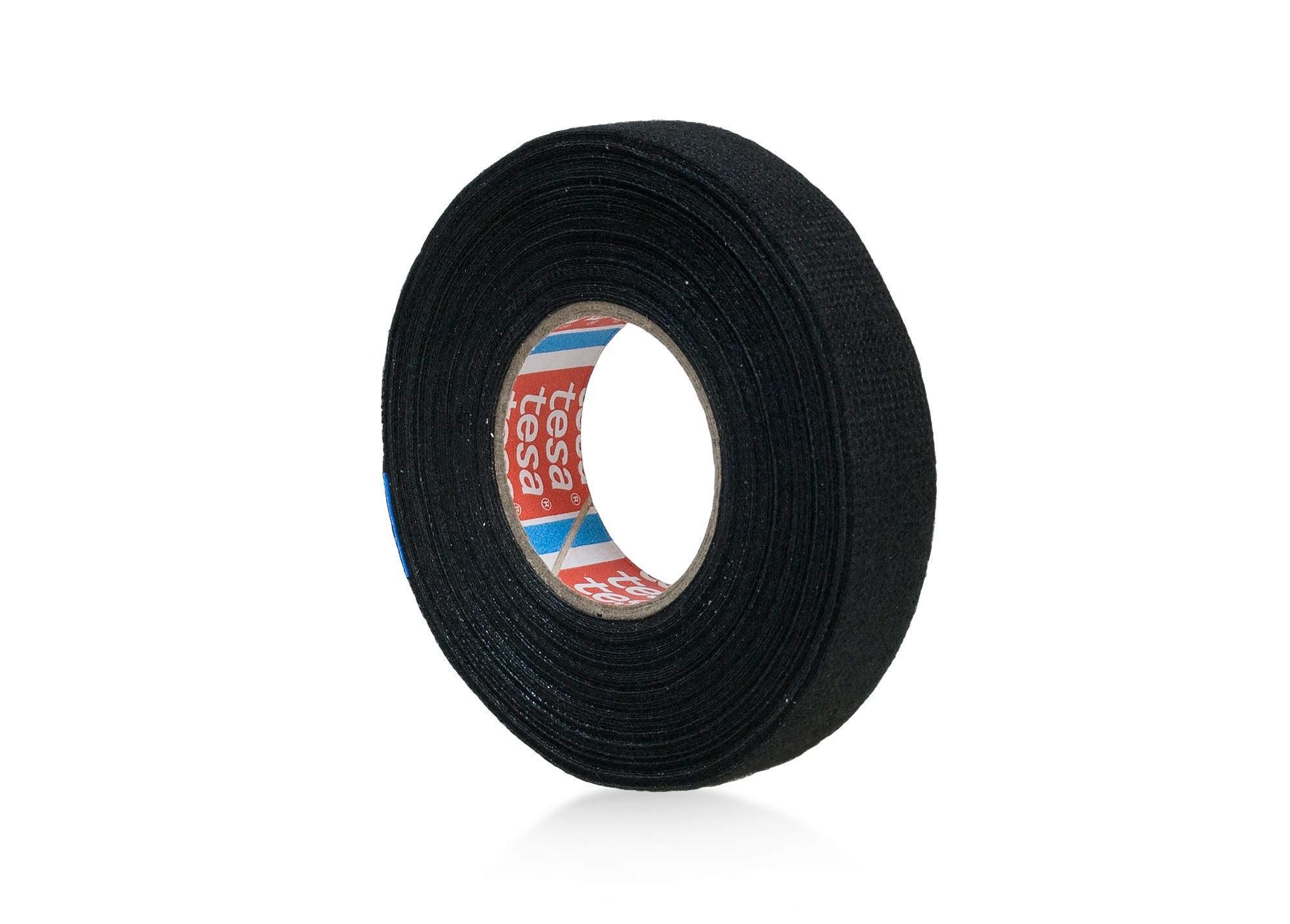 Páska elektroizol. textilná TESA 10m x 15mm čierna