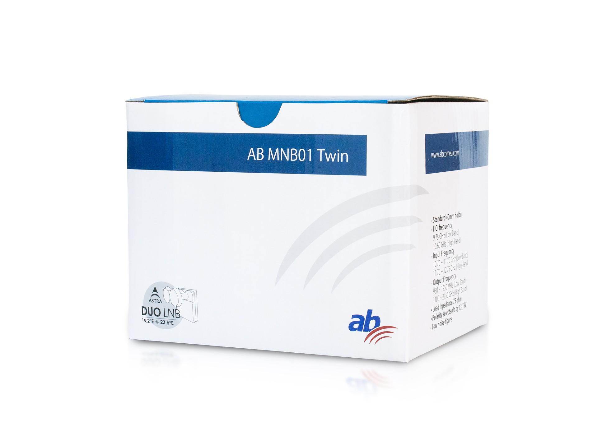 AB LNB01 Monoblock 4,3 Twin 0,1dB v2