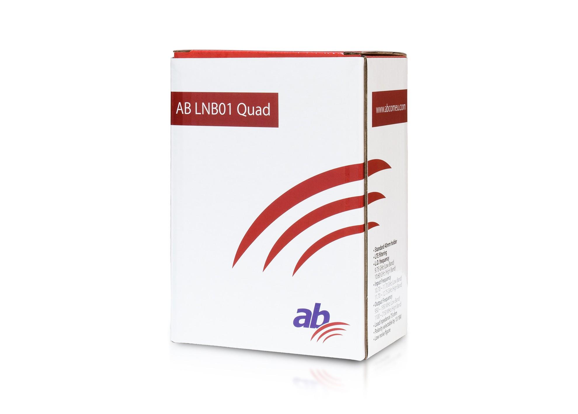 AB LNB01 Quad Red Edition