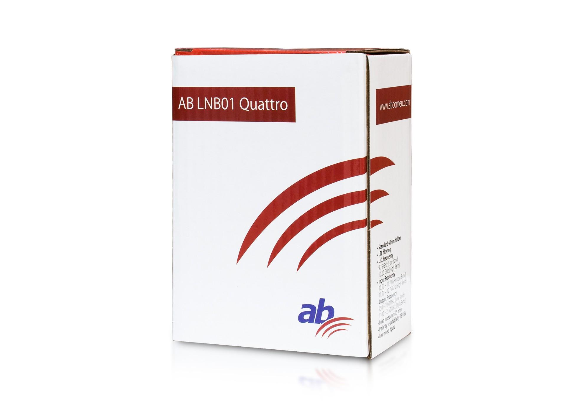 AB LNB01 Quattro Red Edition