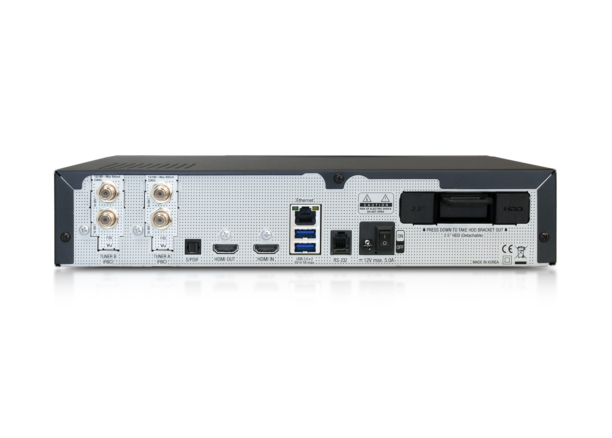 VU+ DUO 4K SE (2x Dual FBC S2X tuner)