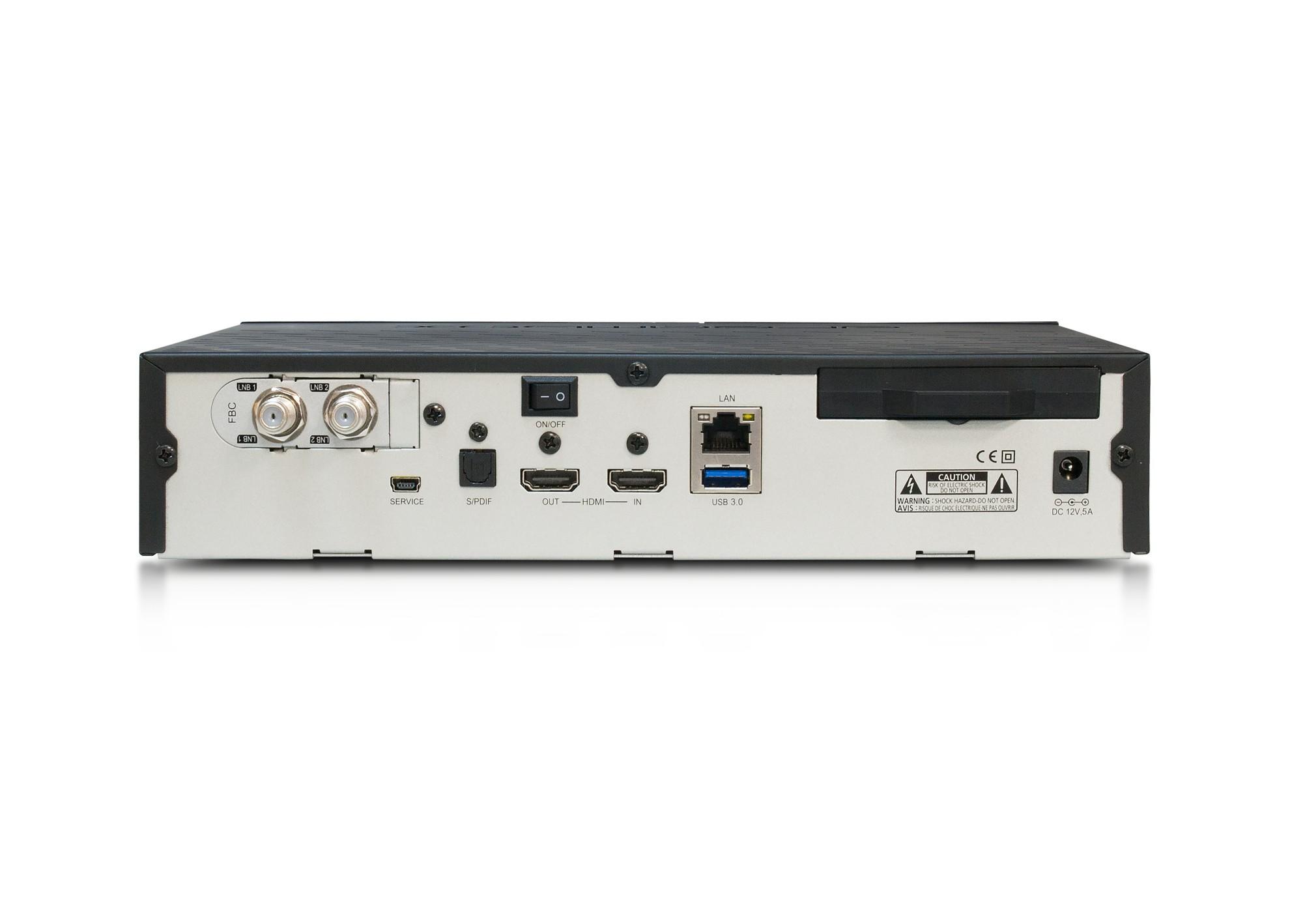 Dreambox DM-900 RC20 UHD 4K (1x DVB-S2X FBC Twin)