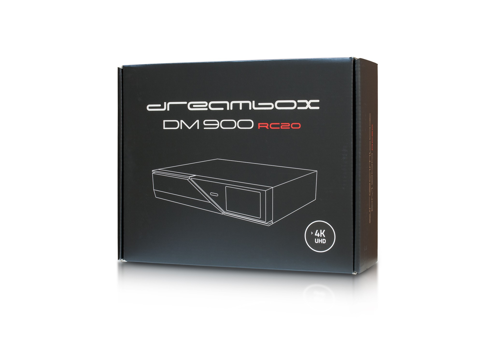 Dreambox DM-900 RC20 4K MS (2x DVB-S2X, DVB-C/T2)