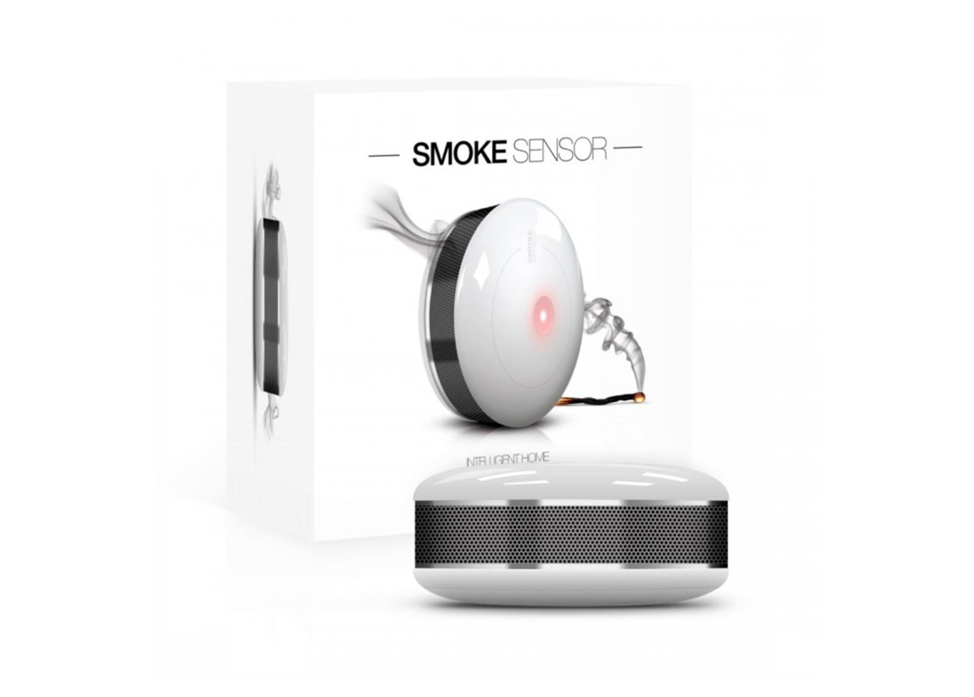 Dymový senzor Fibaro Smoke Sensor 2 Z-Wave