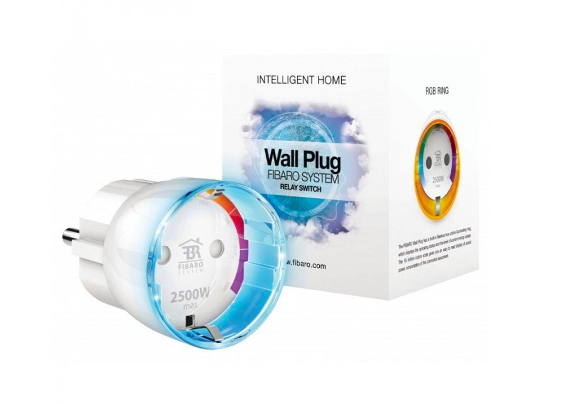 Intelig. zásuvka Fibaro Wall Plug F Z-Wave