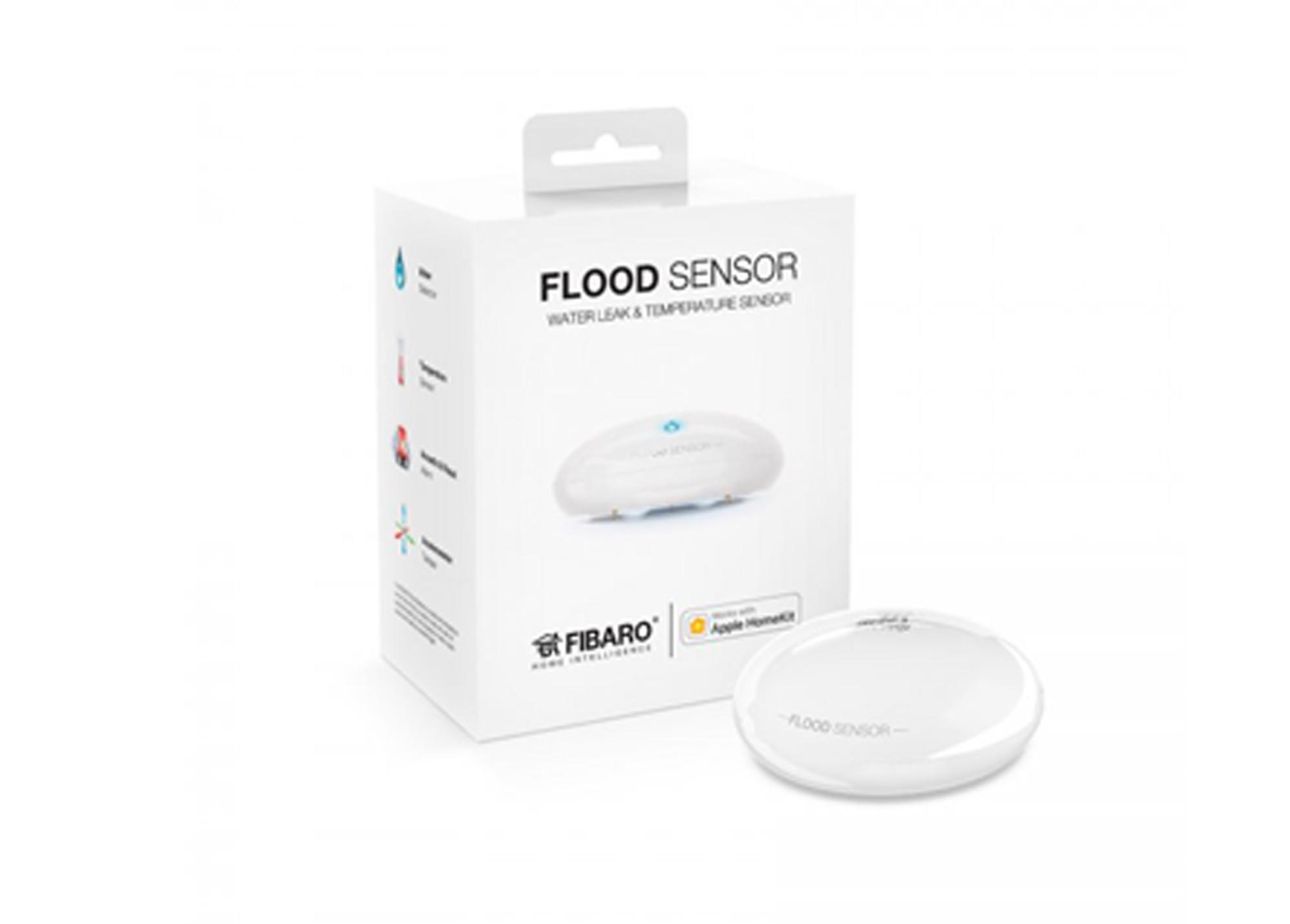 Záplavový senzor  Fibaro Apple HomeKit