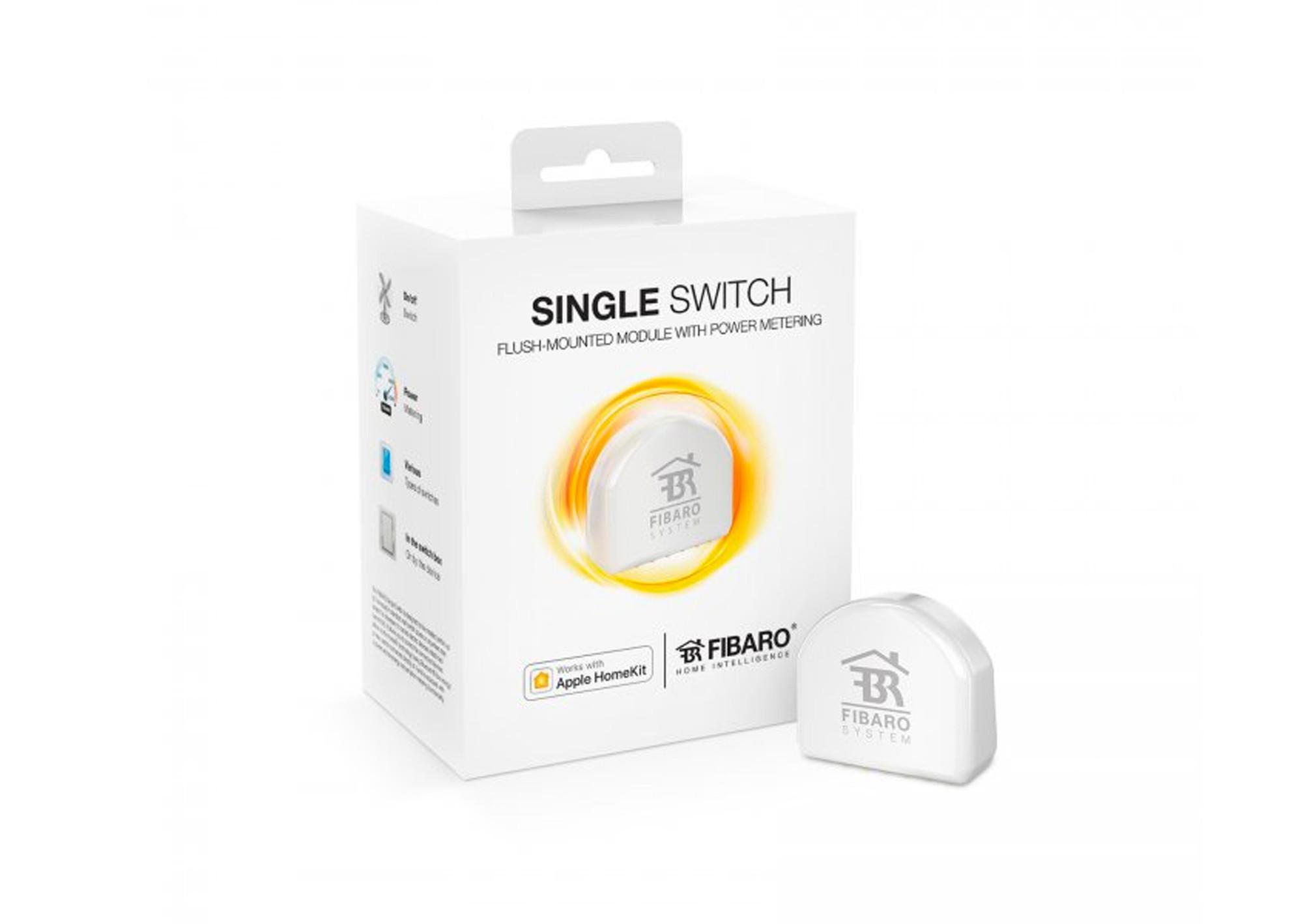 Spínací modul Fibaro single switch Apple HomeKit
