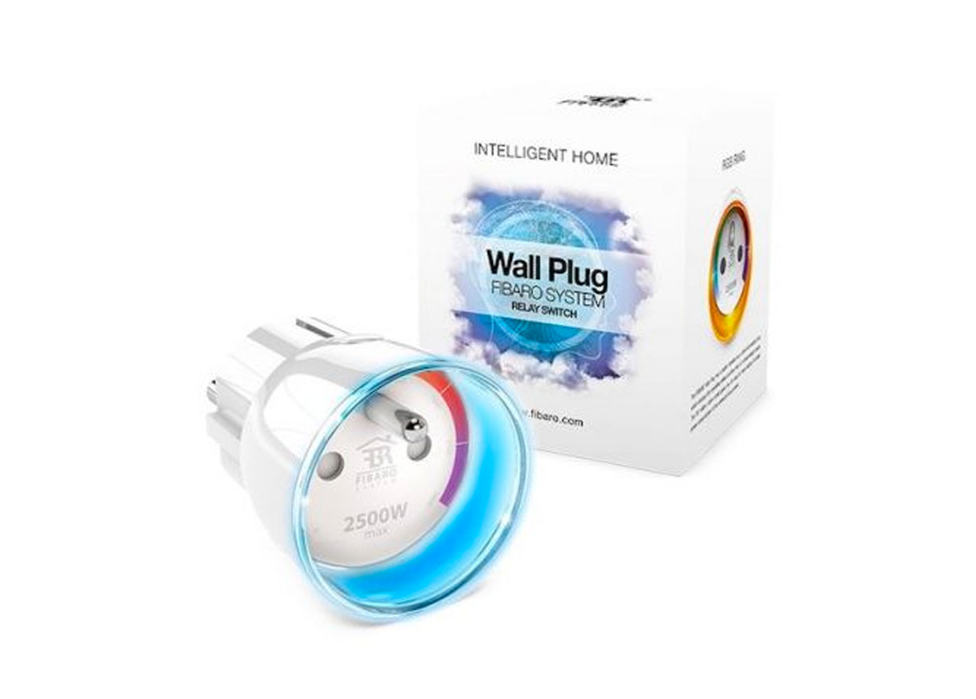 Intelig. zásuvka Fibaro Plug typ E Apple HomeKit