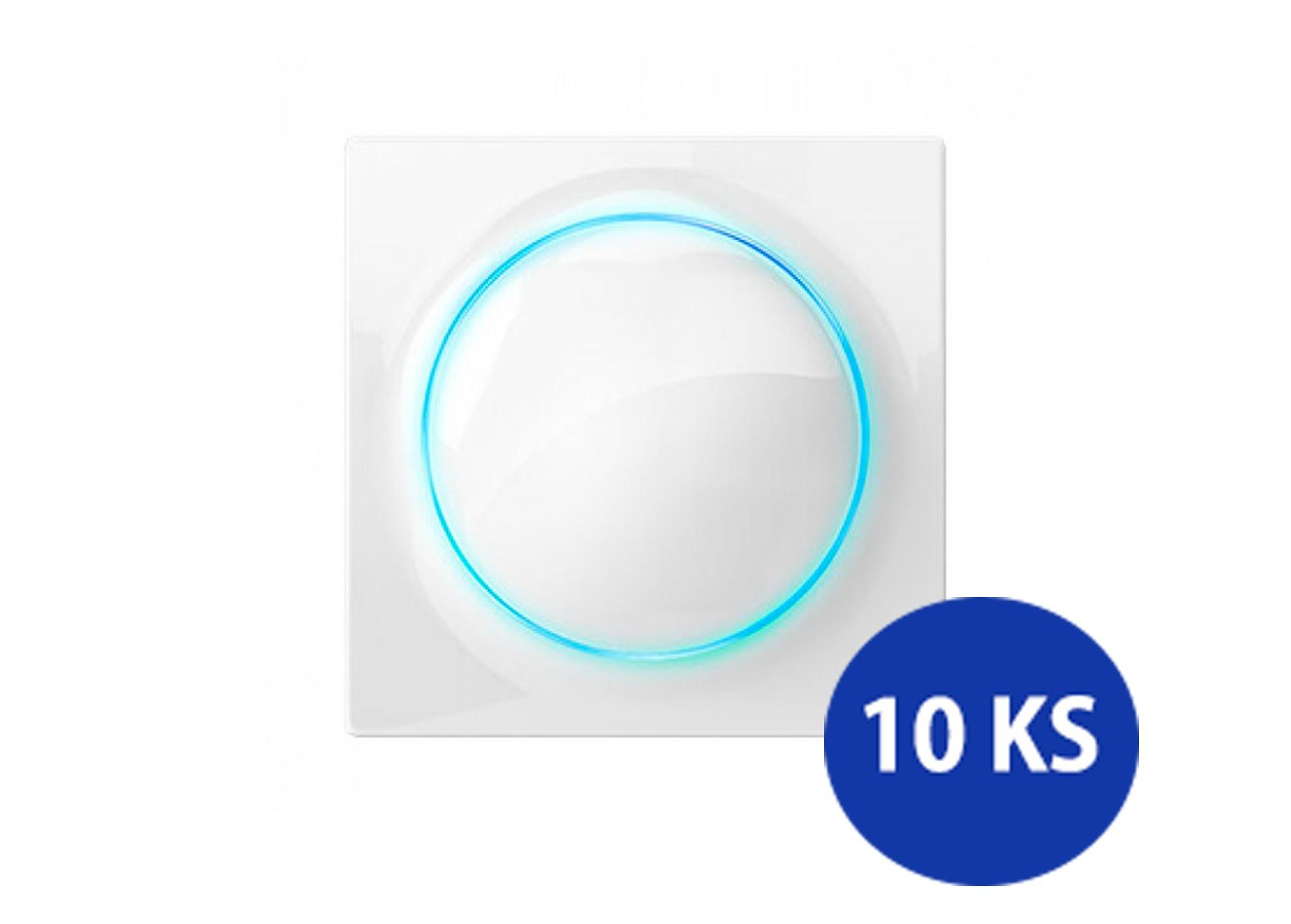Intelig. vypínač/stmievač Fibaro Walli Z-Wave 10ks