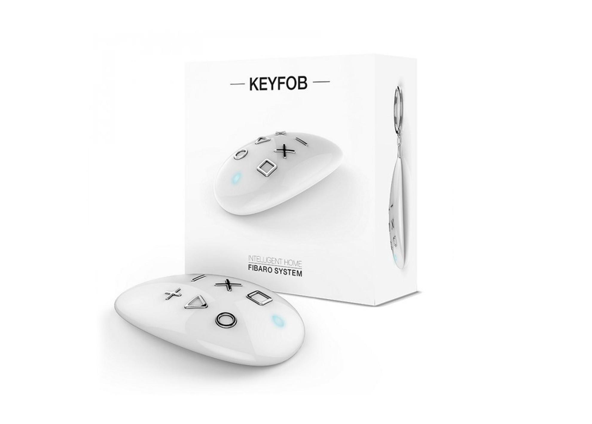 Prenosný Fibaro ovládač scén KeyFob Z-Wave