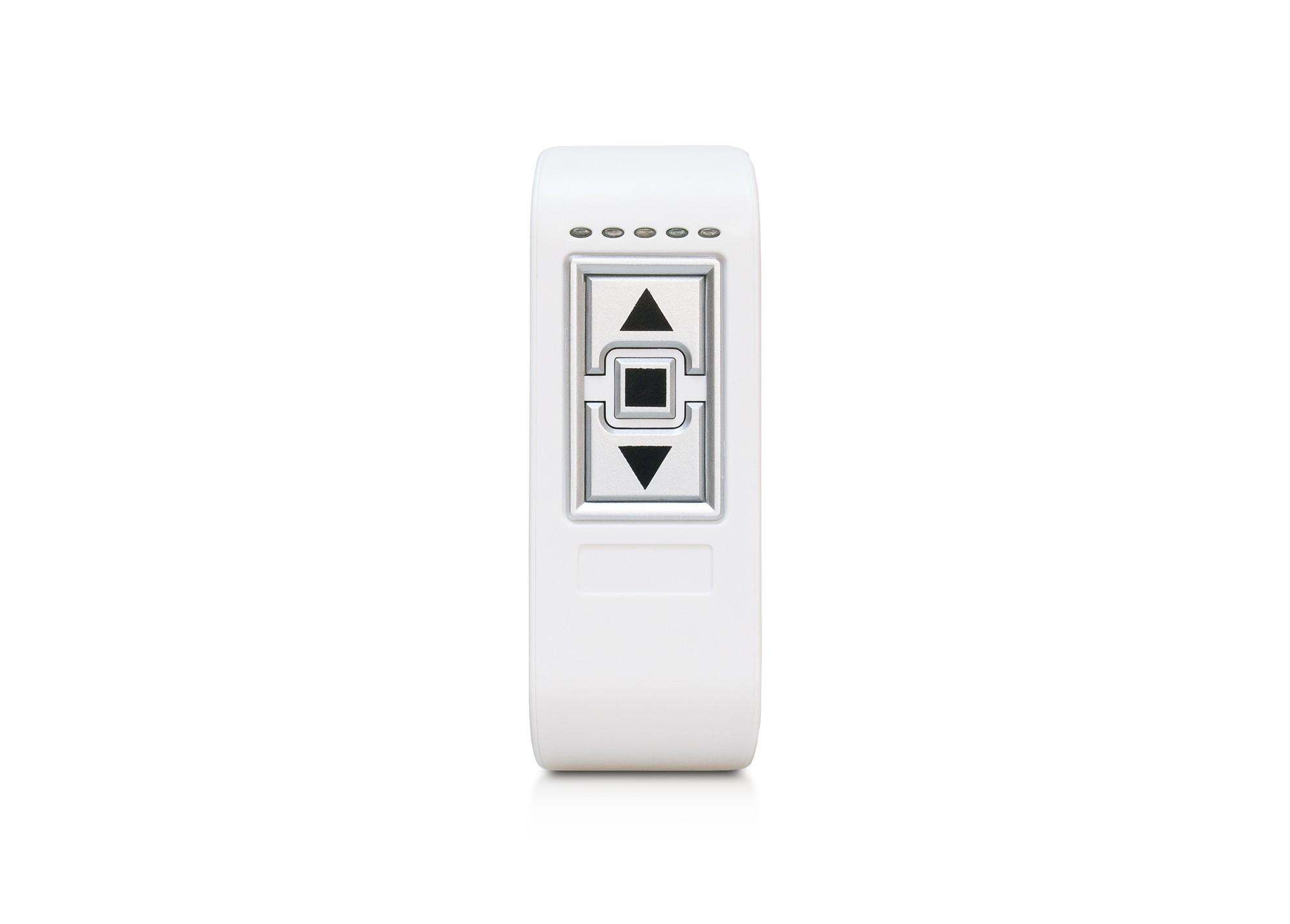Stmievač RF biely, pre LED pásy 12/24V, 8A