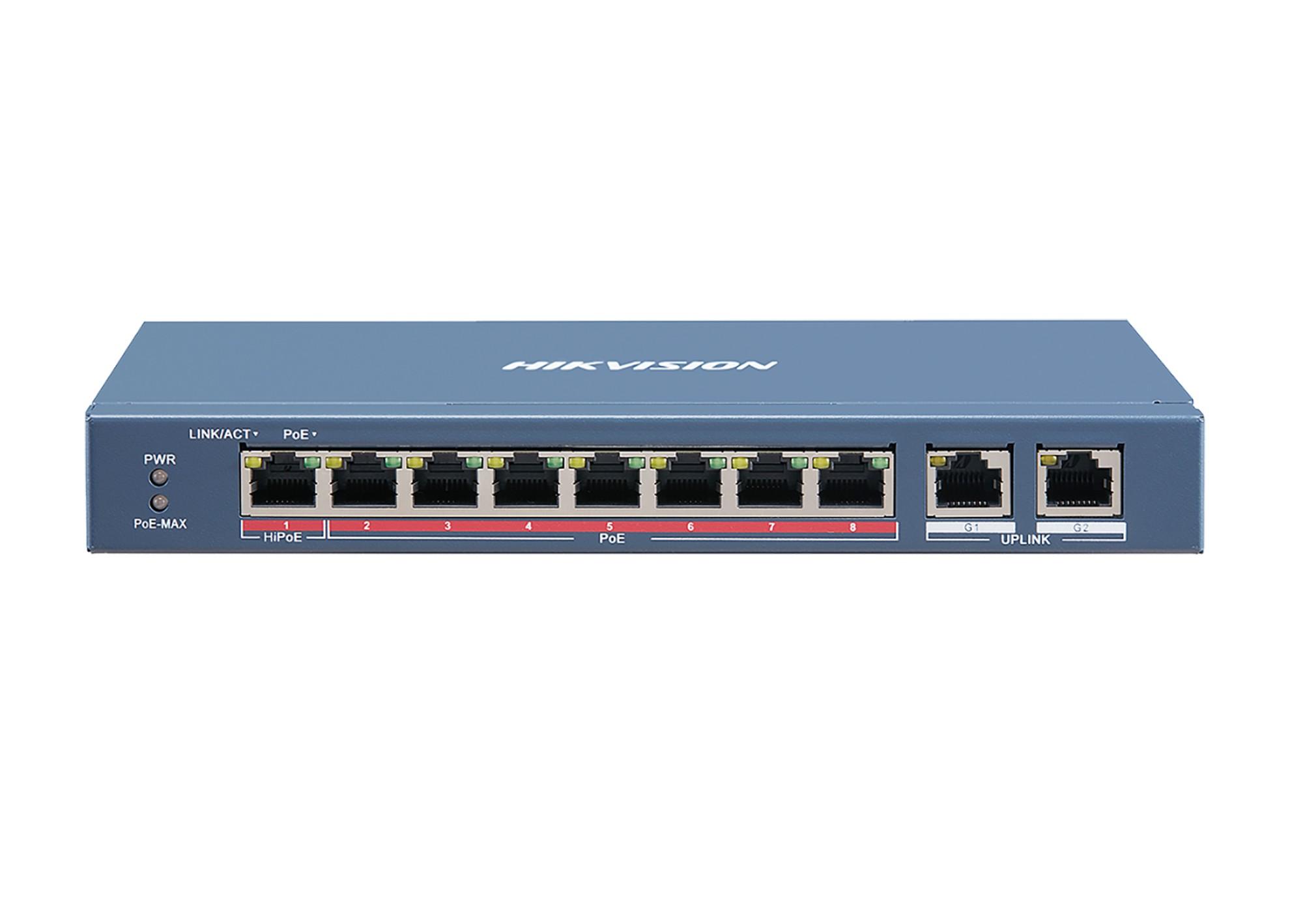 PoE Switch DS-3E0310HP-E rč.S001