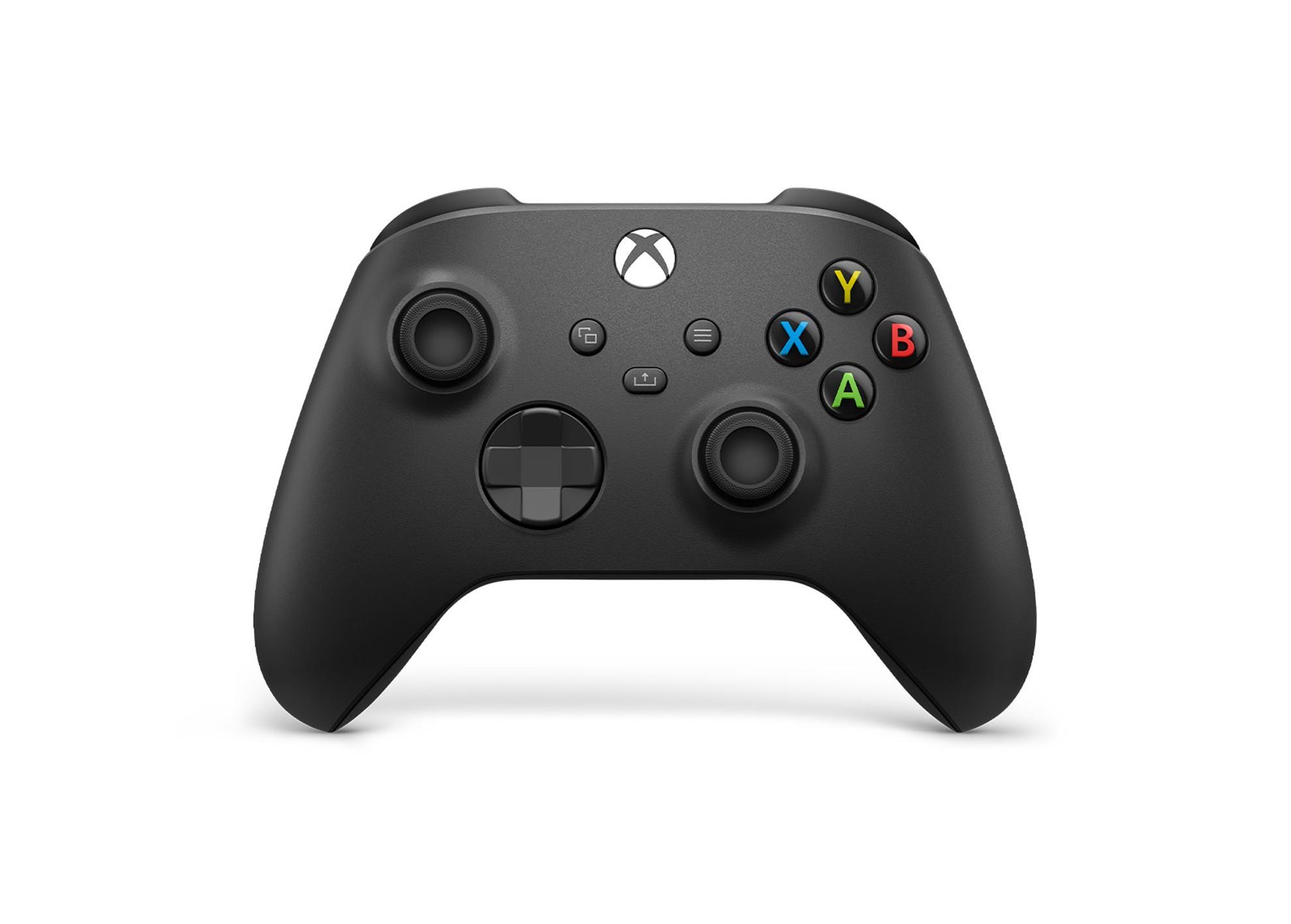 Xbox bezdrôtový ovládač - carbon black