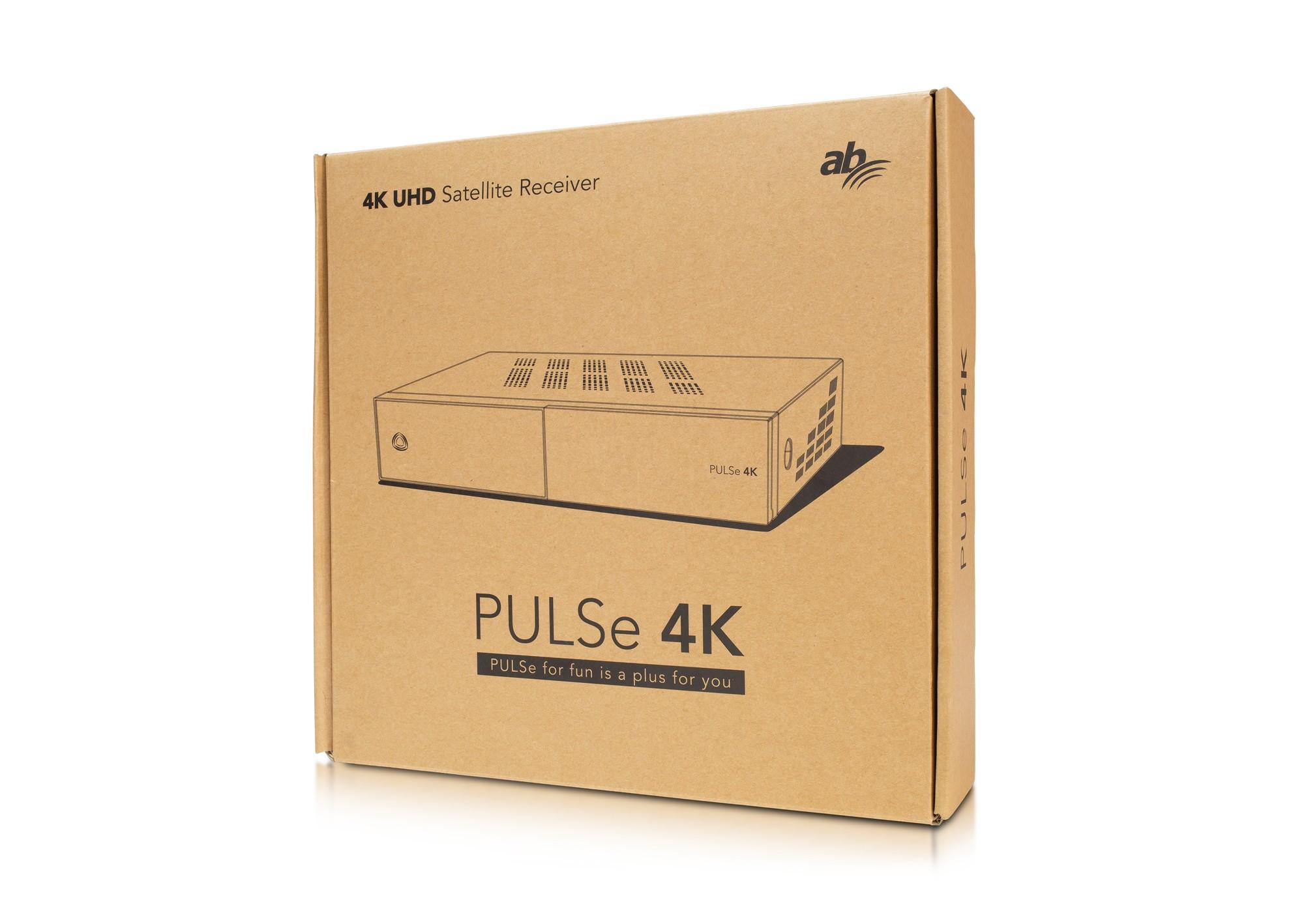 AB PULSe 4K (1x tuner DVB-S2X + 1x tuner DVB-T2/C)