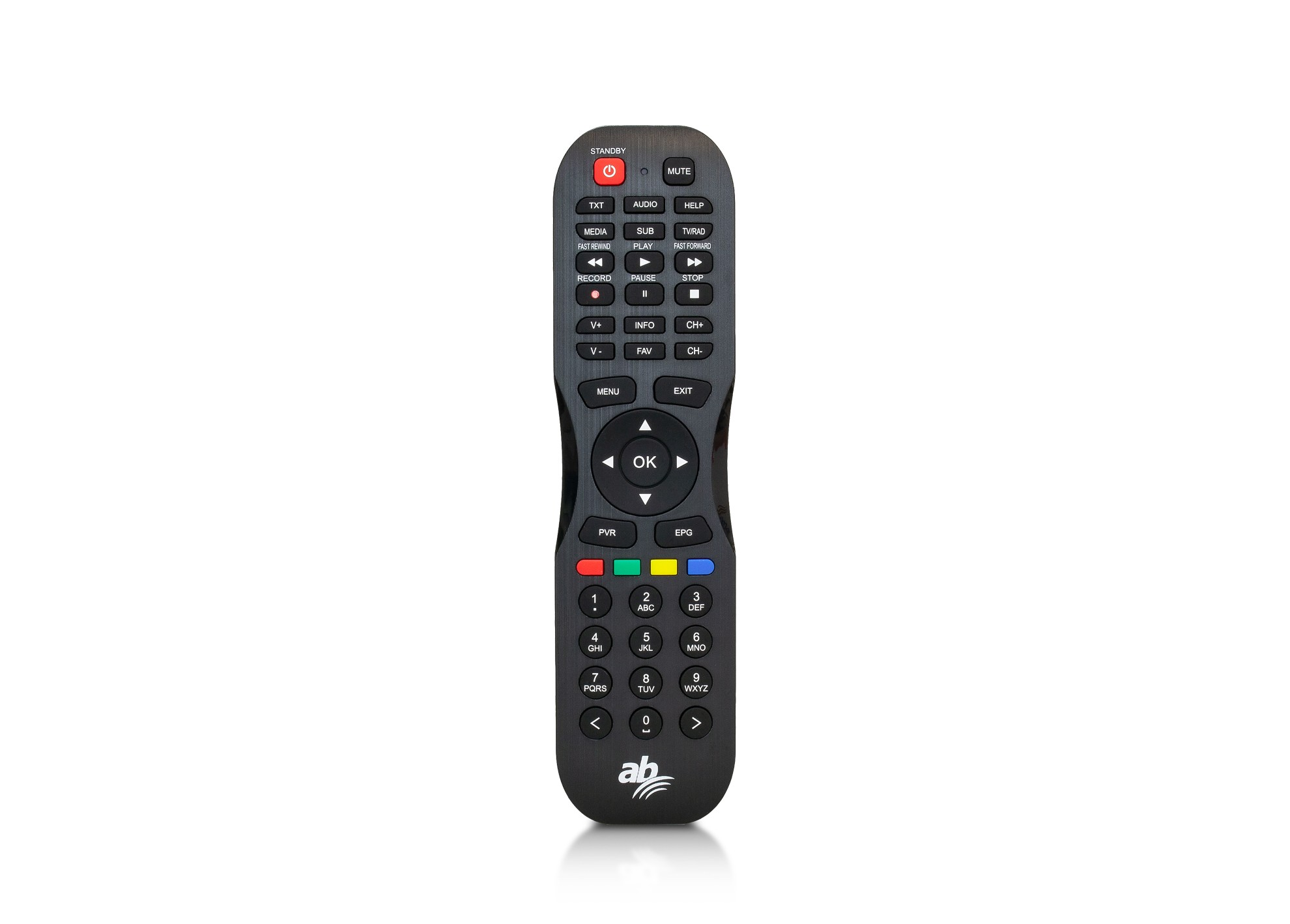 AB PULSe 4K (1x tuner DVB-S2X + 1TB HDD)
