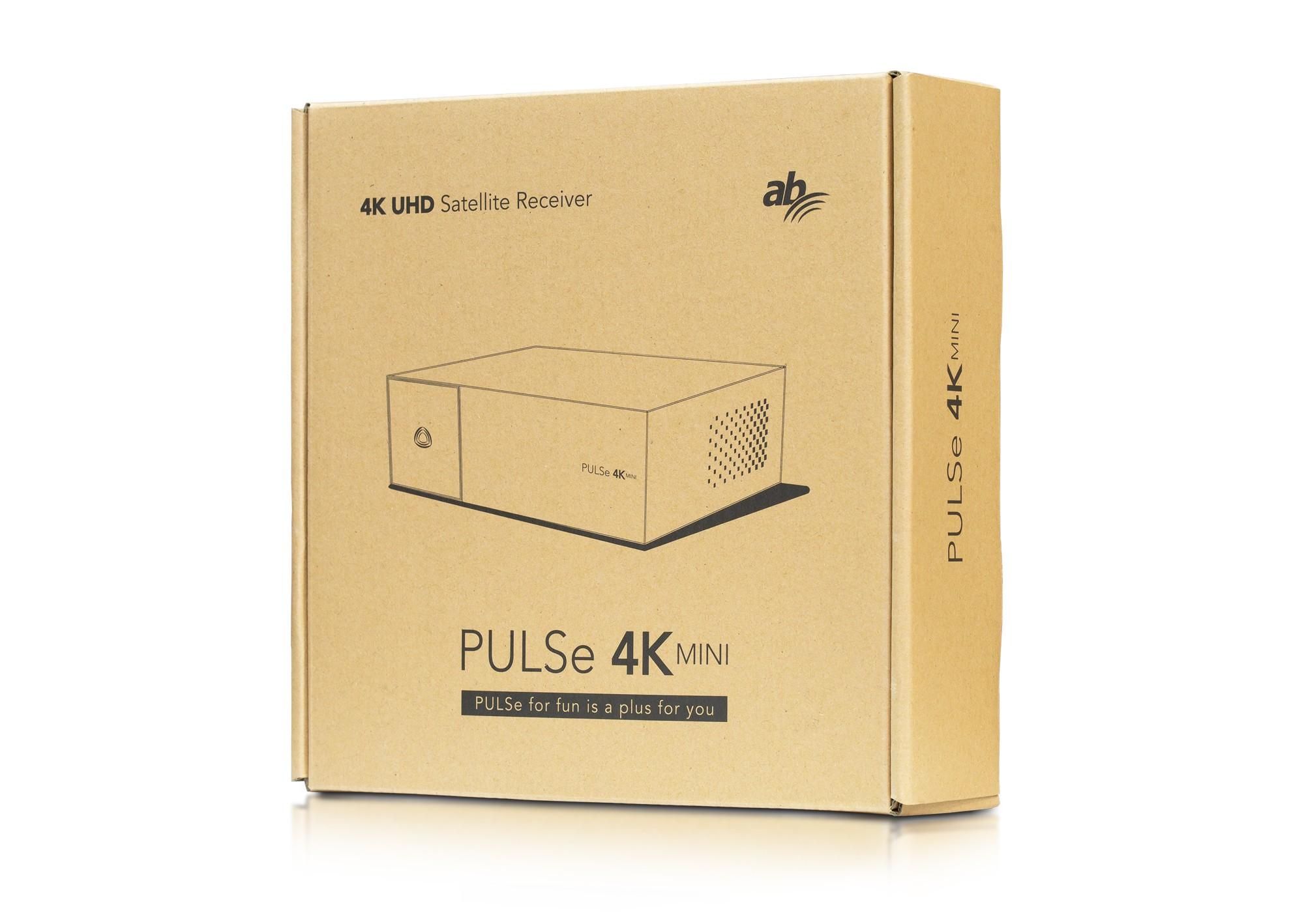 AB PULSe 4K MINI (1x tuner DVB-S2X + 64GB MicroSD)