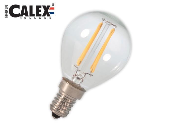 474642 Cal LED Fil E14 P45 3W 300lm, číra 2700K
