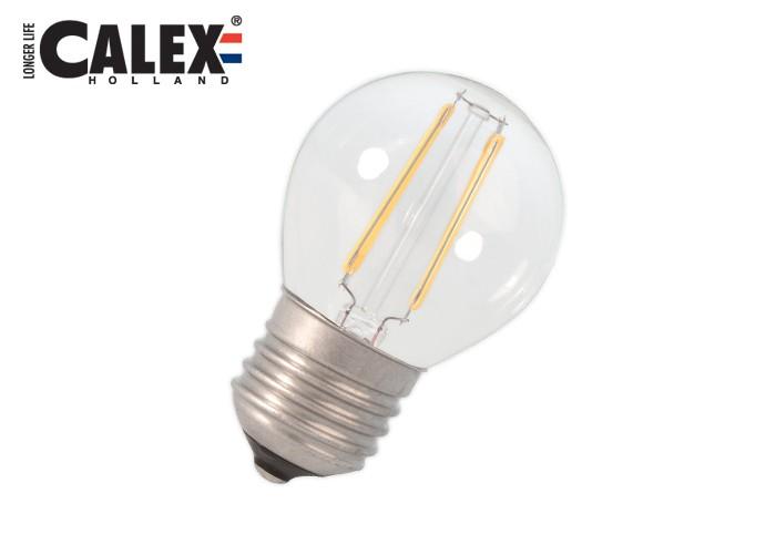 474648 Cal LED Fil E27 P45 3W 300lm, číra 2700K