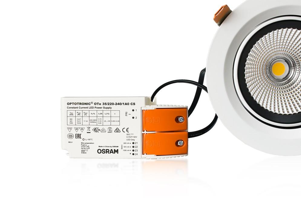 LED fazetový reflektor ADJ,33W,naturál 4000K,3400
