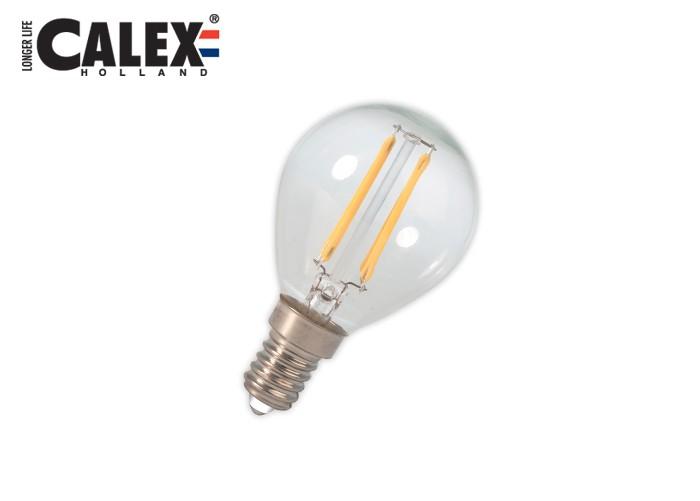 425102 LED Filament E14 P45 2W 200lm, číra 2700K