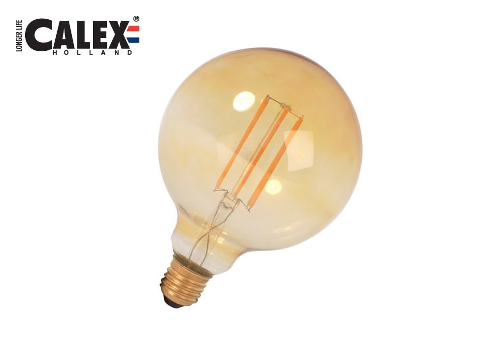 474822 Cal LED Fil E27 GLB95 2,7W 170lm, Gold 2000