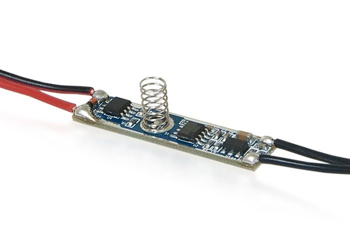 Stmievač dotykový, 3A, pre LED pásy do lišty