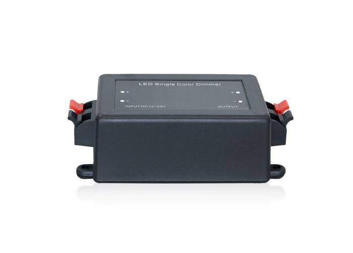 Stmievač RF čierny, pre LED pásy 12/24V, 8A
