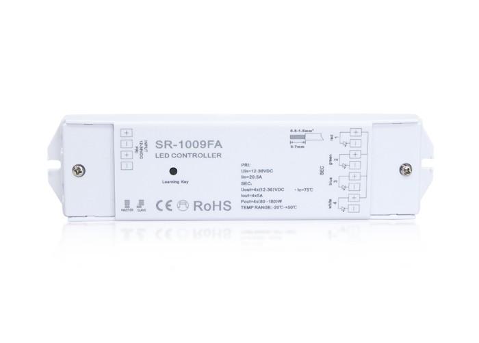 Riadiaci prijímač RGB 1009FA, 12-36VDC, 3x5A