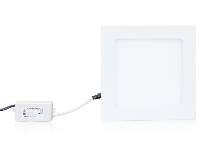 LED panel 12W, štvorec 170 mm, 800 lm, natural