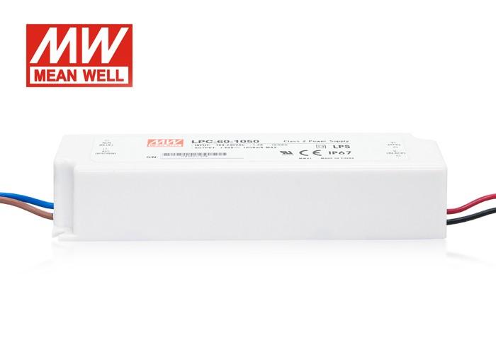 LED PS 1050mA, 50W, IP67 MeanWell napájací zdroj