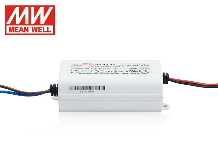 LED PS12V12W MeanWell nap. zdroj,12W,12V,APV