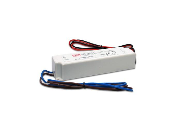 LED PS12V35WIP67 MeanWell napájací zdroj 12V,35W