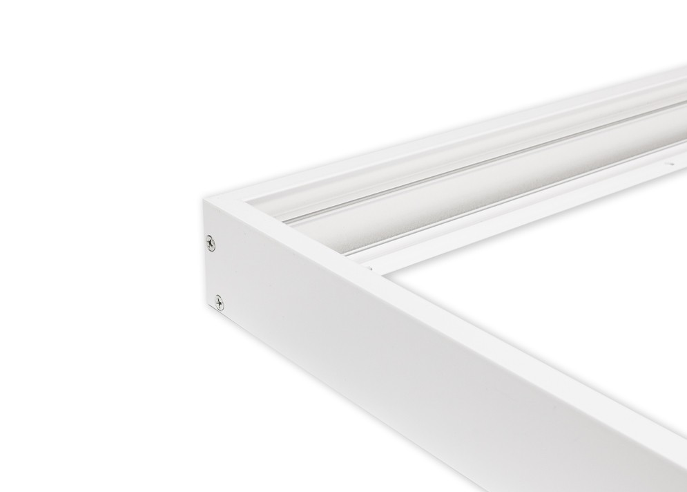Rám pre inštaláciu LED panelov s maximálnymi rozme