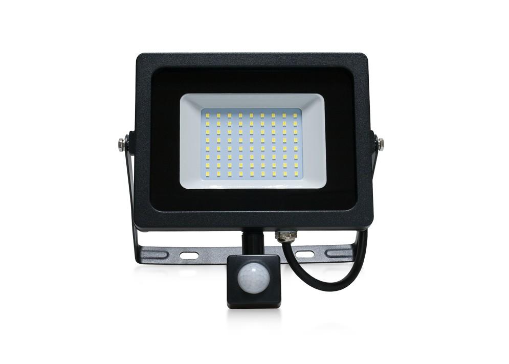 LED REFC50 Reflektor,50W,6400K,4000lm,PIR