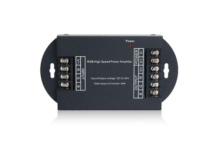 Zosilovač pre RGB LED pásy 12V,24V - 3x8A