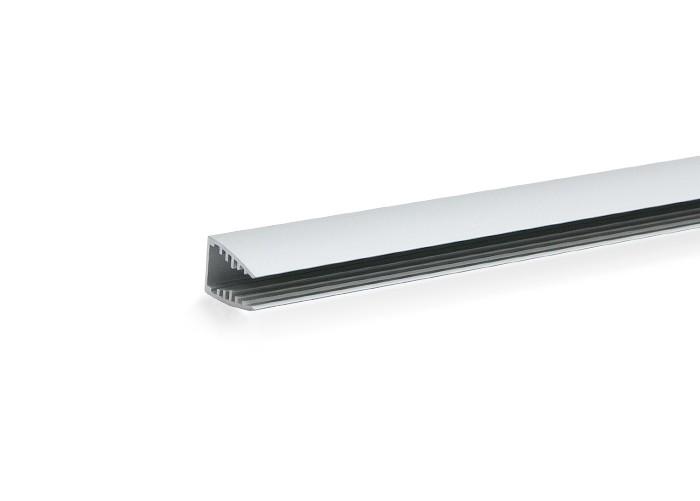 Lišta L MX01 pre LED pásy, strieborná, 1m