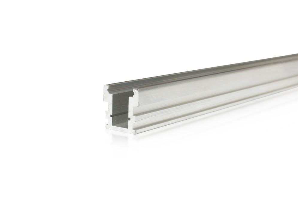 Lišta soklová SXP21 pre LED pásy,strieborná, 1m