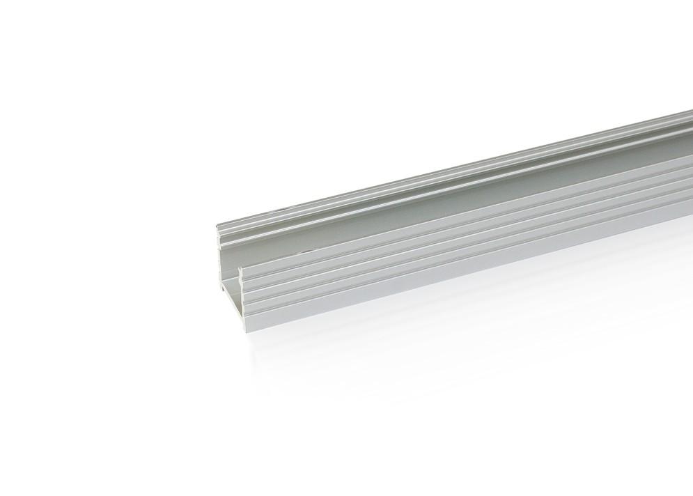 Lišta L XC10 pre LED pásy,strieborná, 1m