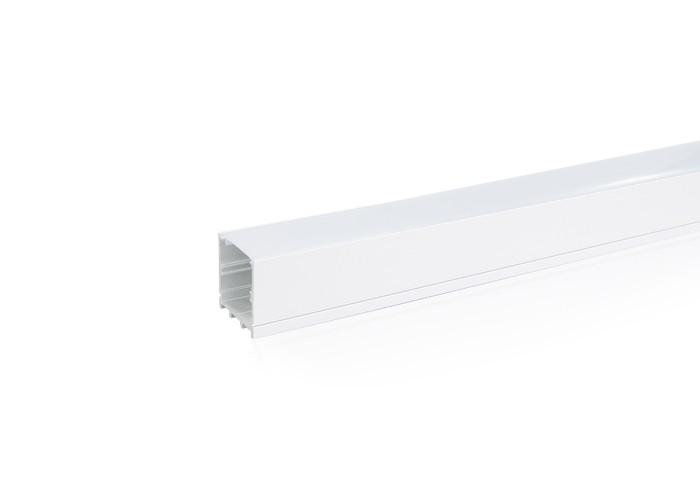 Lišta L XC19 hlboká pre LED pásy,strieborná,1m