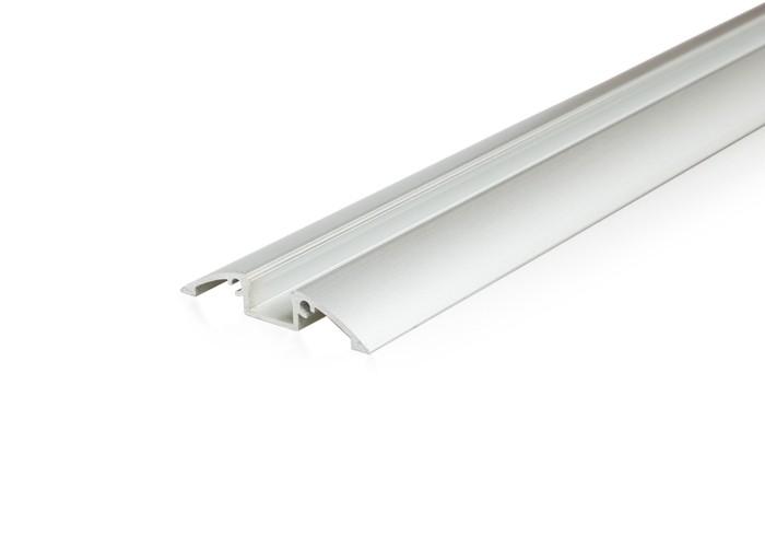 Lišta L XC28 pre LED pásy,strieborná,1m