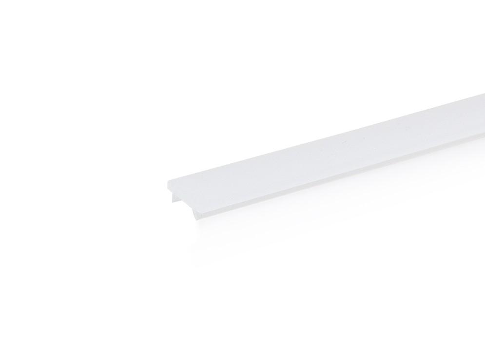 Plastový kryt P PC-N11M pre lištu XC27, mliečny