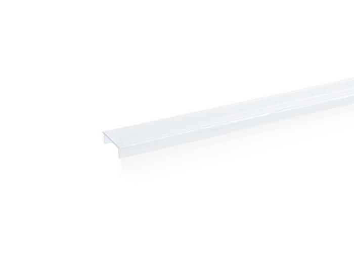 Plastový kryt P PVC-N14T pre lišty XC15,XC29 číra