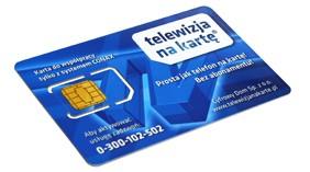 Card PL Telewizja na karte