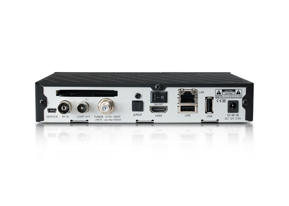 Dreambox DM-525HD Combo 1xDVB-S2 + 1x DVB-C/T2