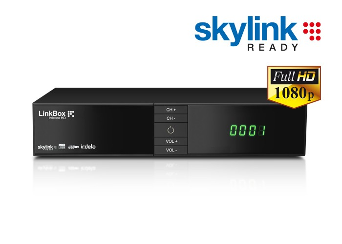 LinkBox Irdetino HD Skylink ready