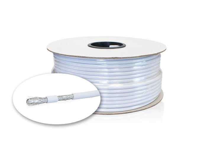 Koaxiálny kábel RG6 4-vrstvový, 100m balenie