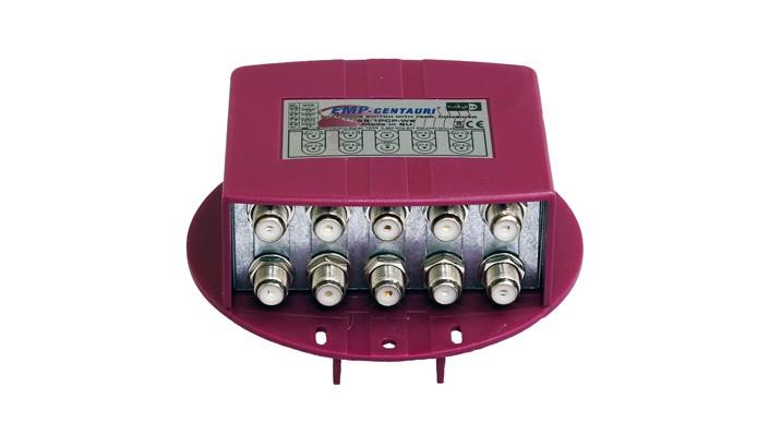 DiSEqC prepínač EMP S8/1PCP-W2